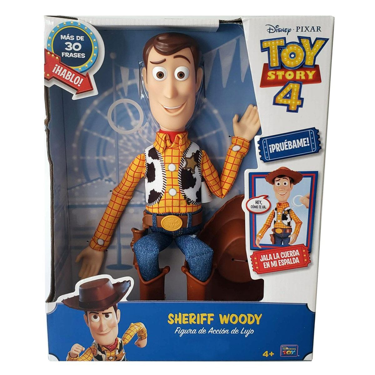 Sheriff Woody Deluxe Toy Story 4