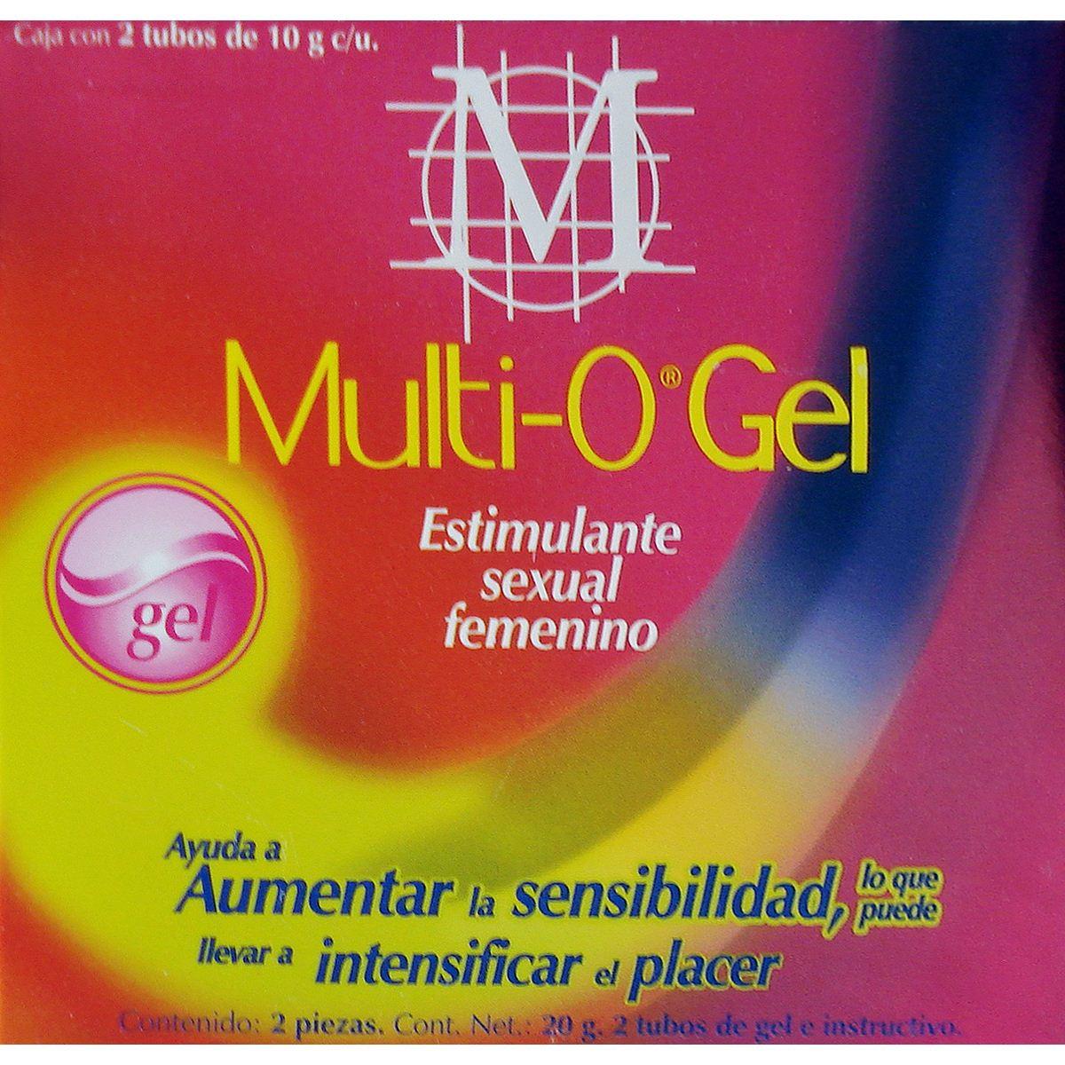 Gel  humectante femenino  multi-o  - Sanborns