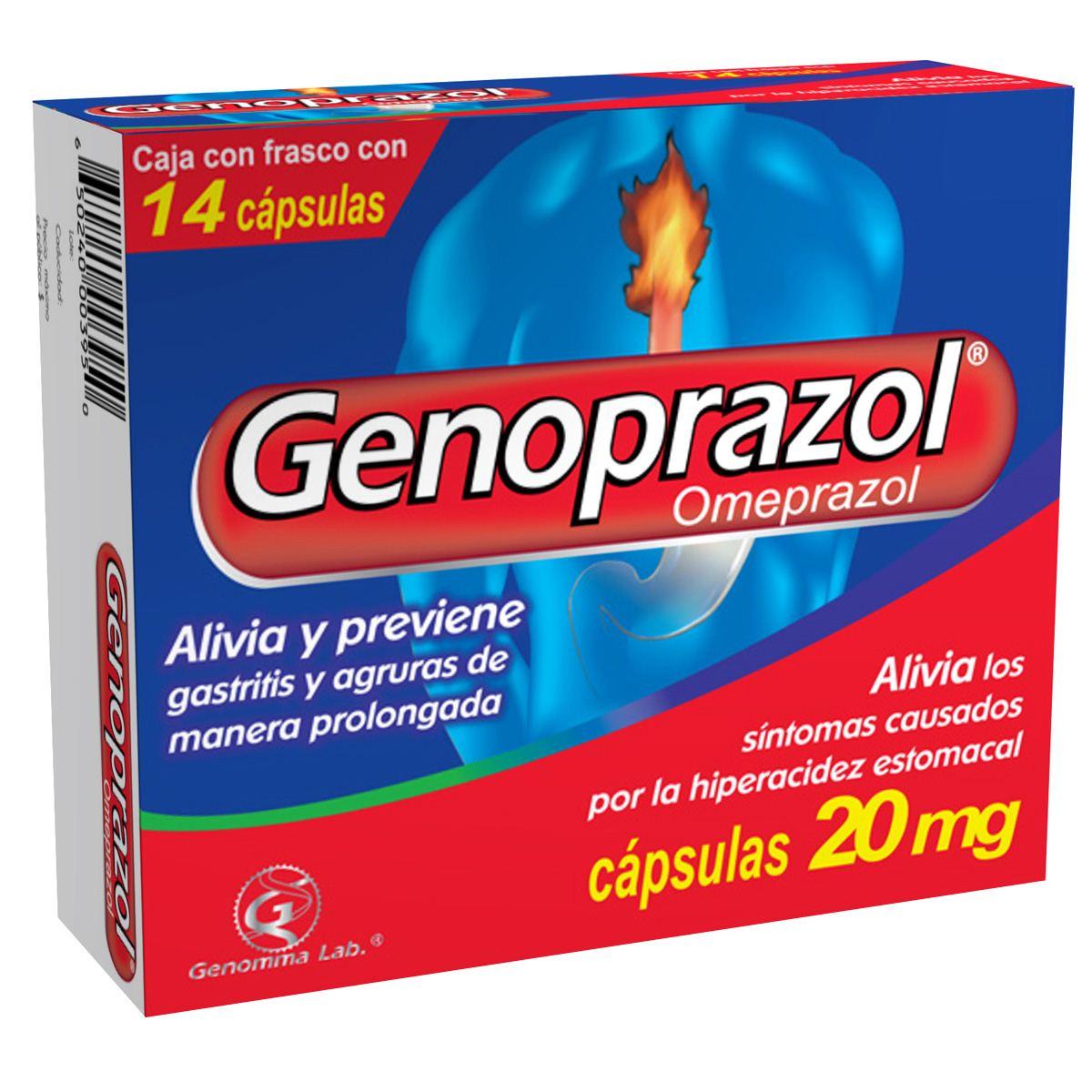 Genoprazol cápsula  - Sanborns
