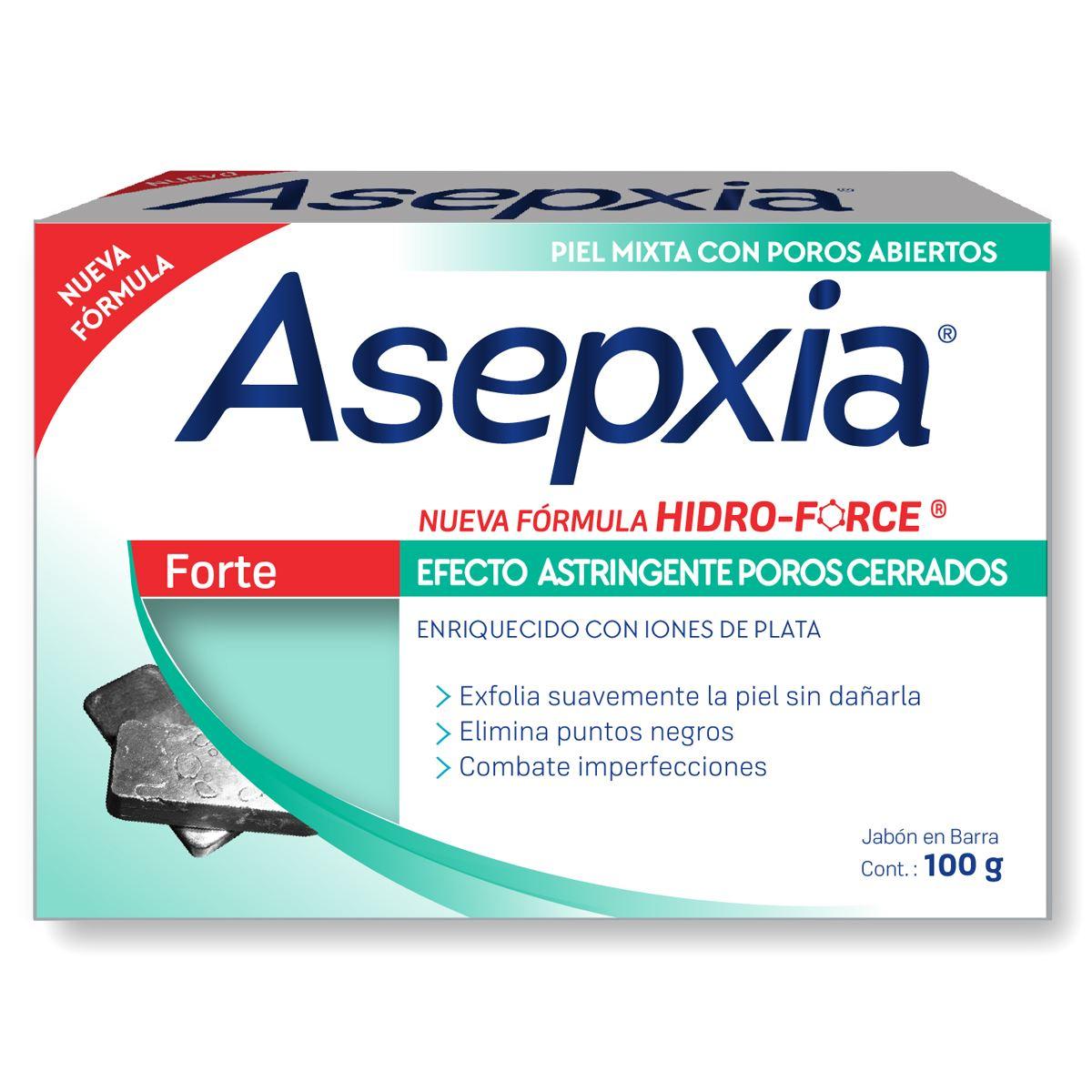 Asepxia jabón forte 100 gr  - Sanborns