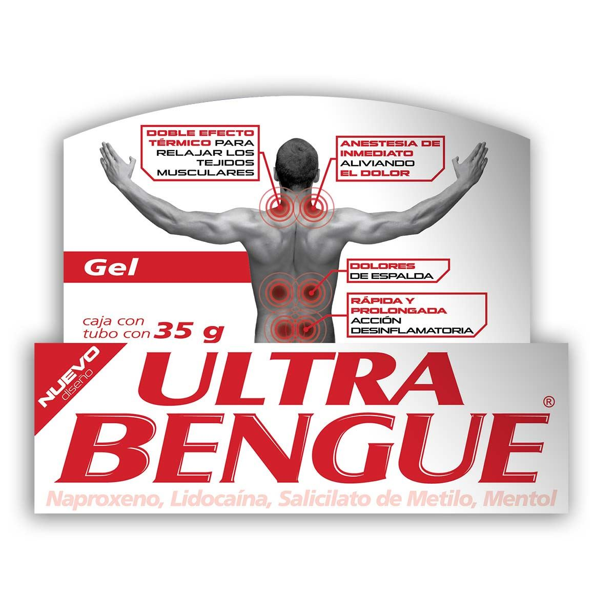 Ultra bengue gel 35gr e/5  - Sanborns