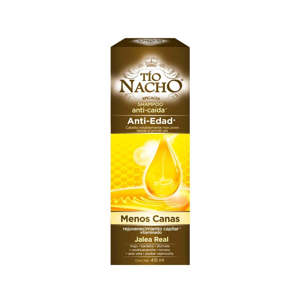 Tio nacho shampoo anti-edad 415 ml  - Sanborns