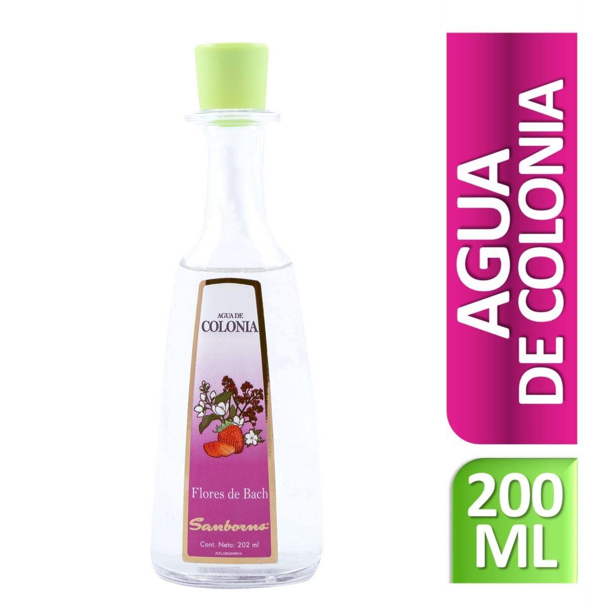 Agua de Colonia Sanborns Flores de Bach 202 ml