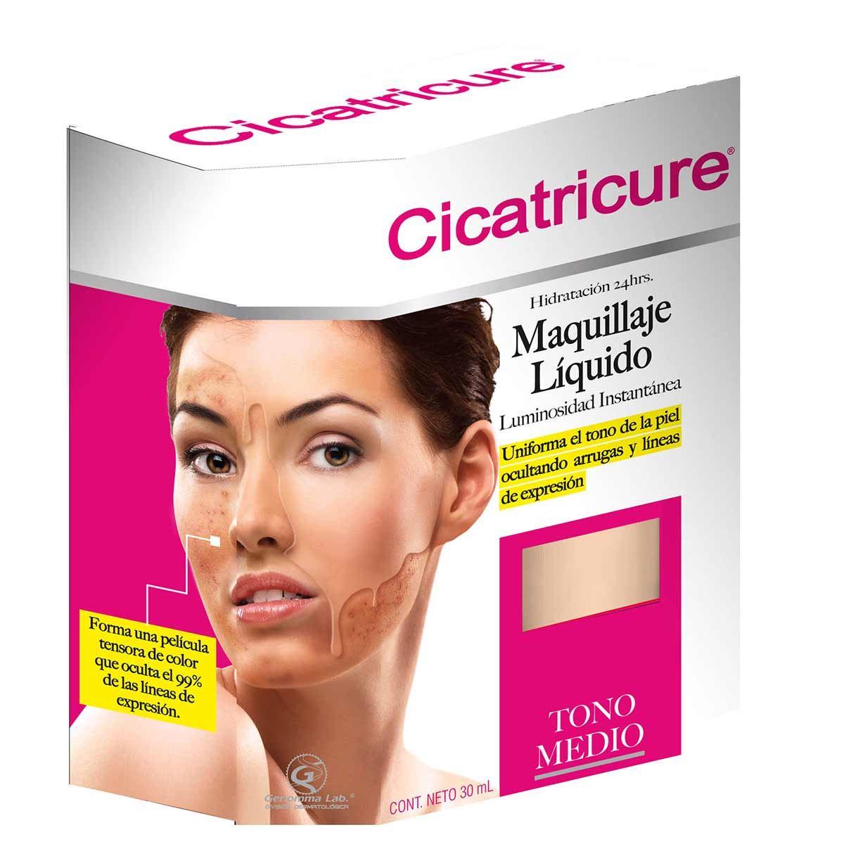 Cicatricure Maquillaje Líquido Medio 30 ml E12