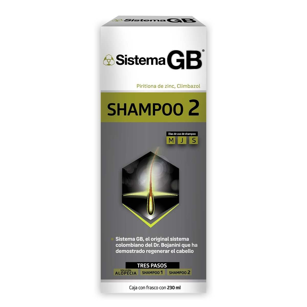 Sistema GB Shampoo 2  230 ml