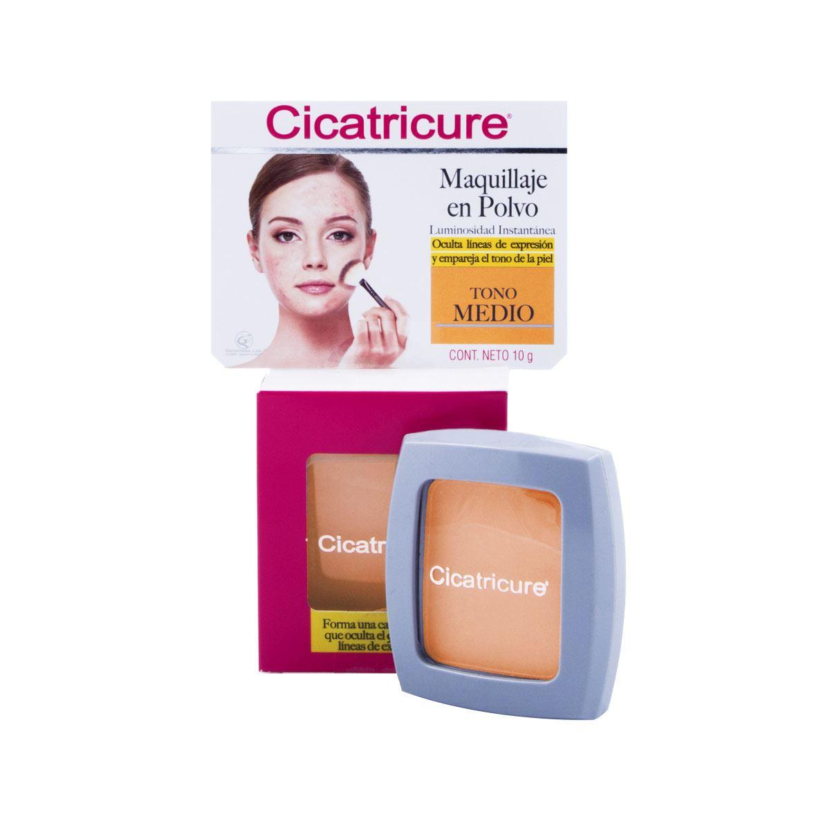 Cicatricure Tensor Dérmico Maquillante Polvo Medio 10 gr