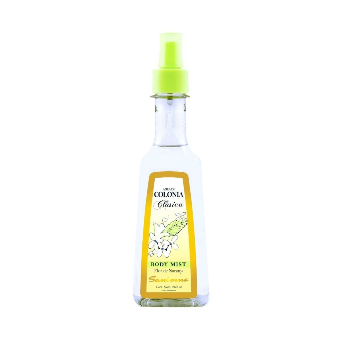 Agua de colonia body mist 260 ml  - Sanborns