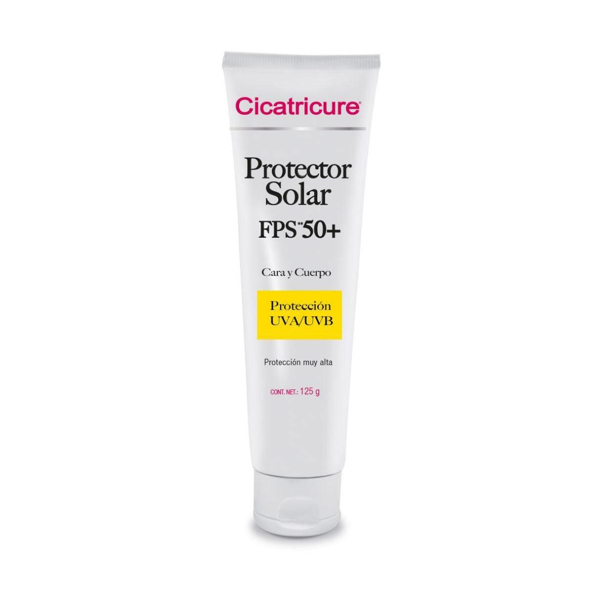 Cicatricure 365 Fps 50 +  Pantalla Solar Crema Para Cara y Cuerpo 150 ml