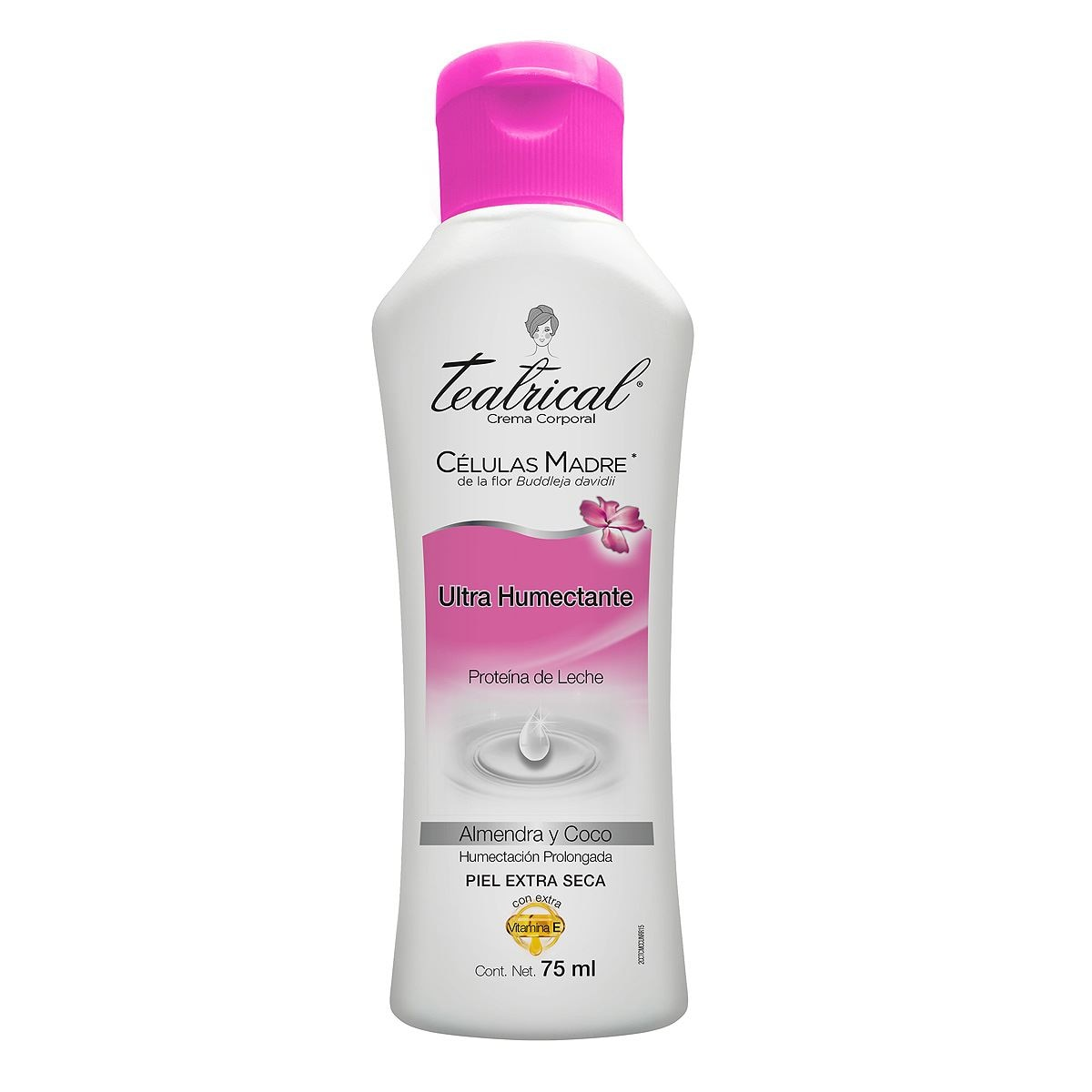 Teatrical crema corporal ultra humectante 75 ml  - Sanborns
