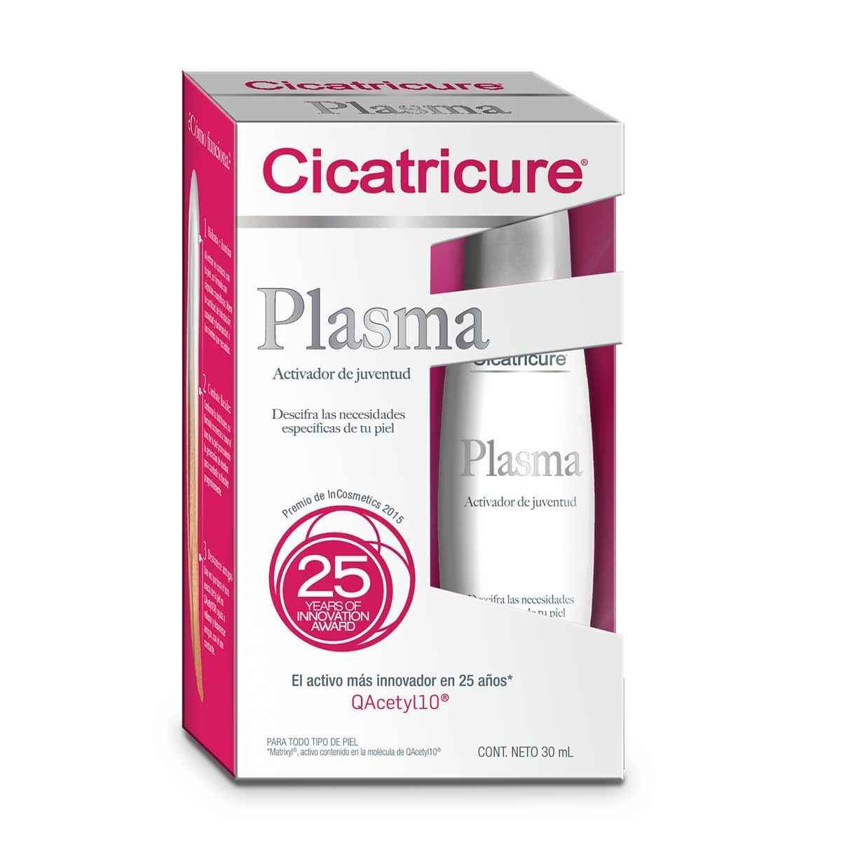 Plasma facial cicatricure 30 ml  e  - Sanborns