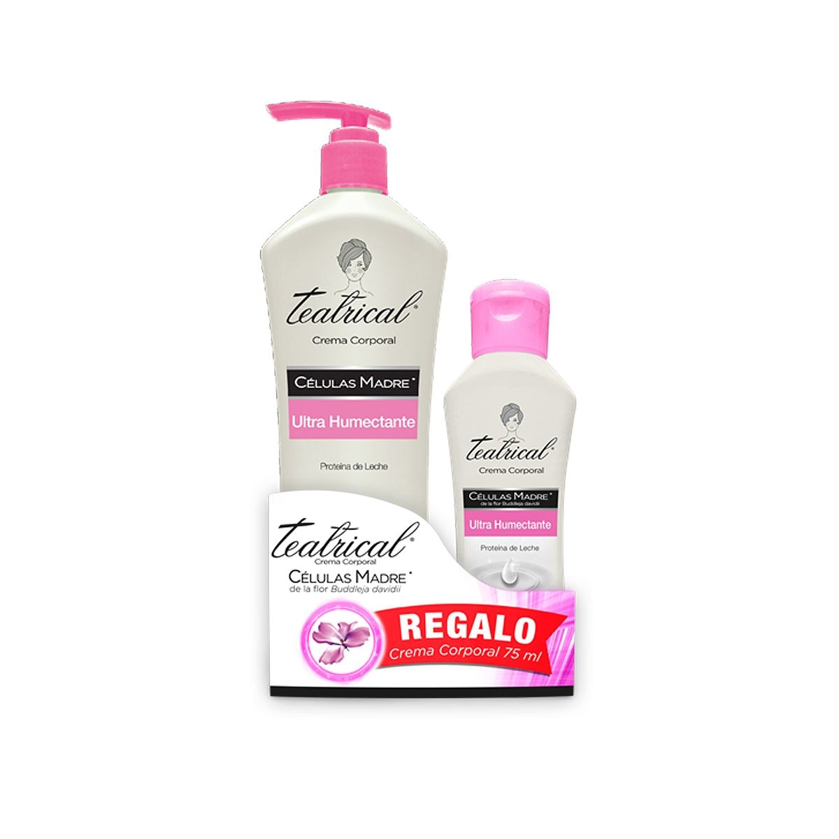 Packs corporal ultrahumectante 400ml + 75 ml corporal  ultra humectante  - Sanborns