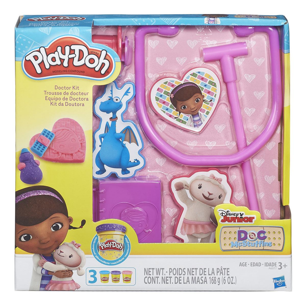 Kit de la Doctora Juguetes Play-Doh