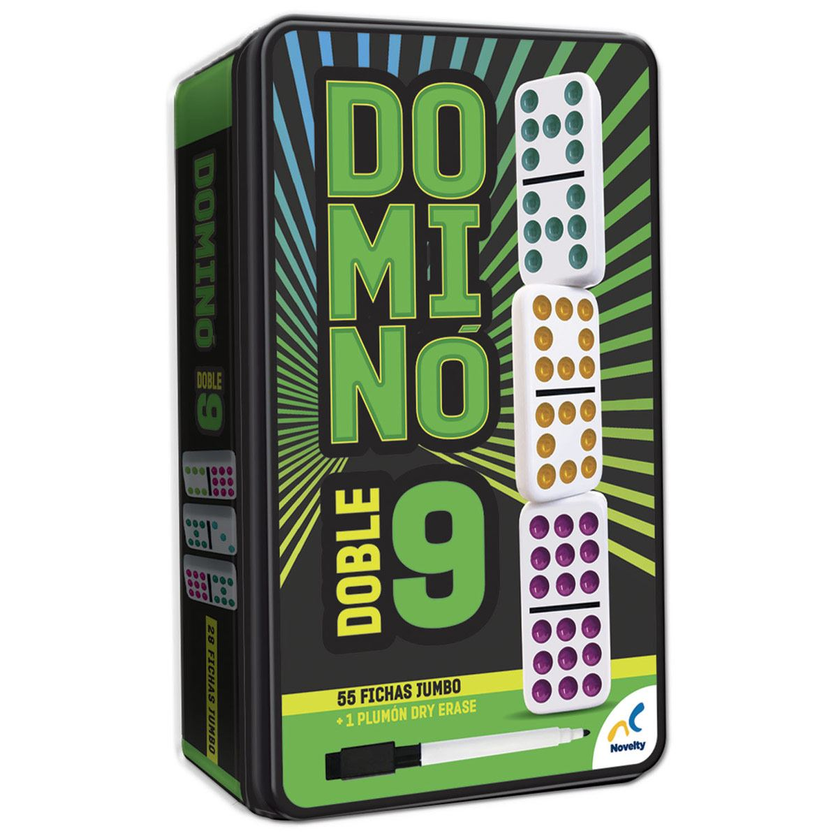 Domino colores doble 9 d581  - Sanborns