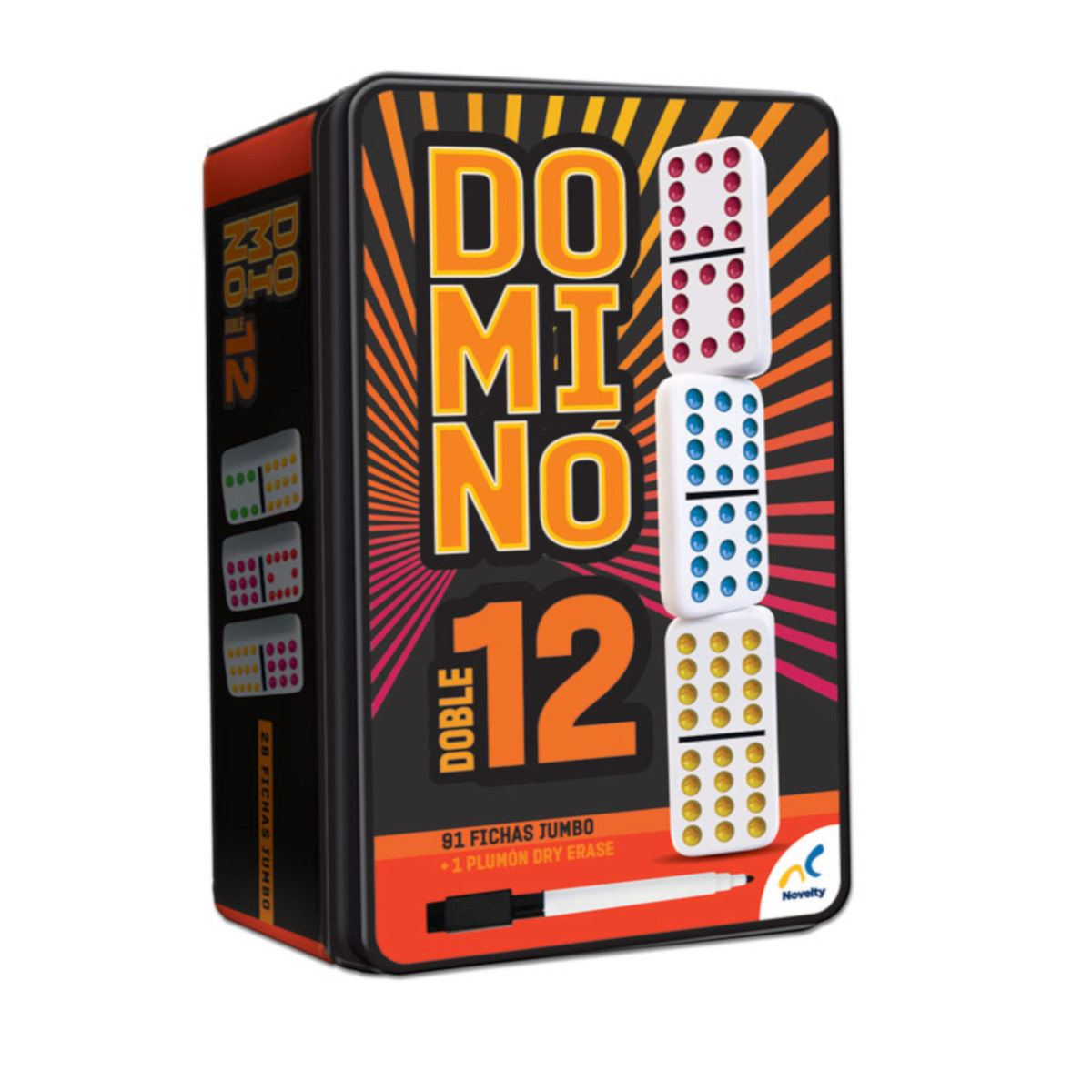 Domino Colores Doble 12 D583 Novelty