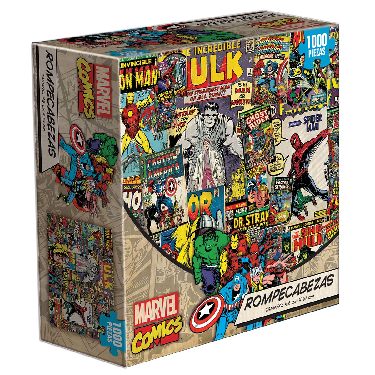 Rompecabezas adulto marvel comics 1000 piezas - Sanborns