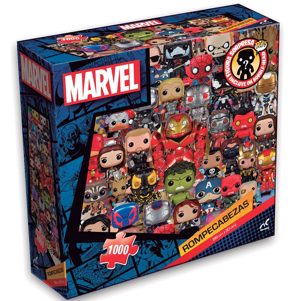Rompecabezas adulto funko avengers, 1000 piezas, caja cartón - Sanborns
