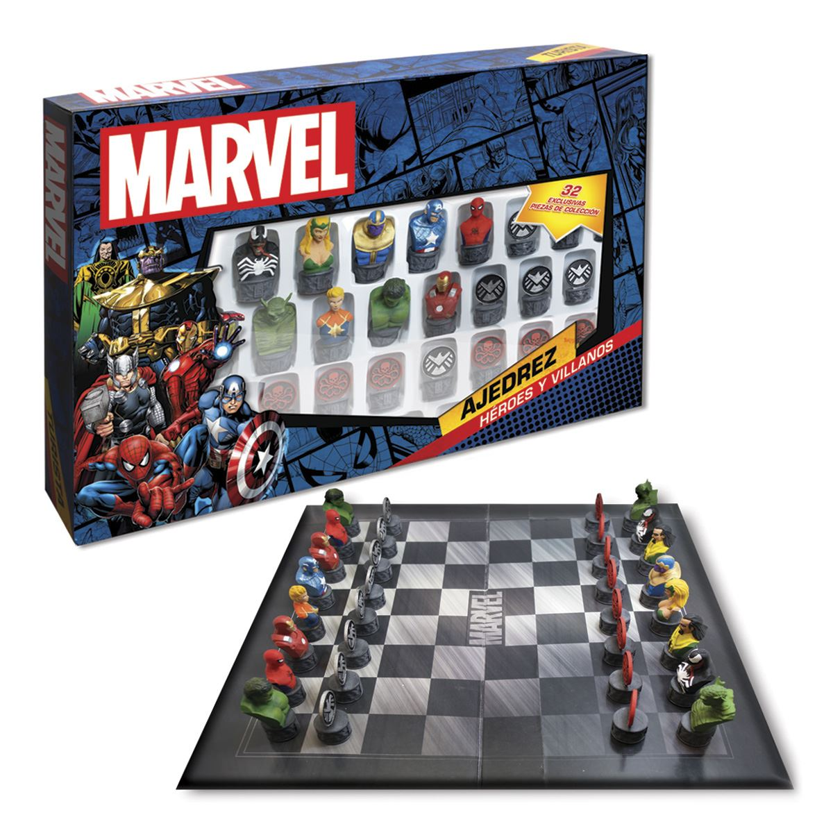 Ajedrez Novelty de Marvel