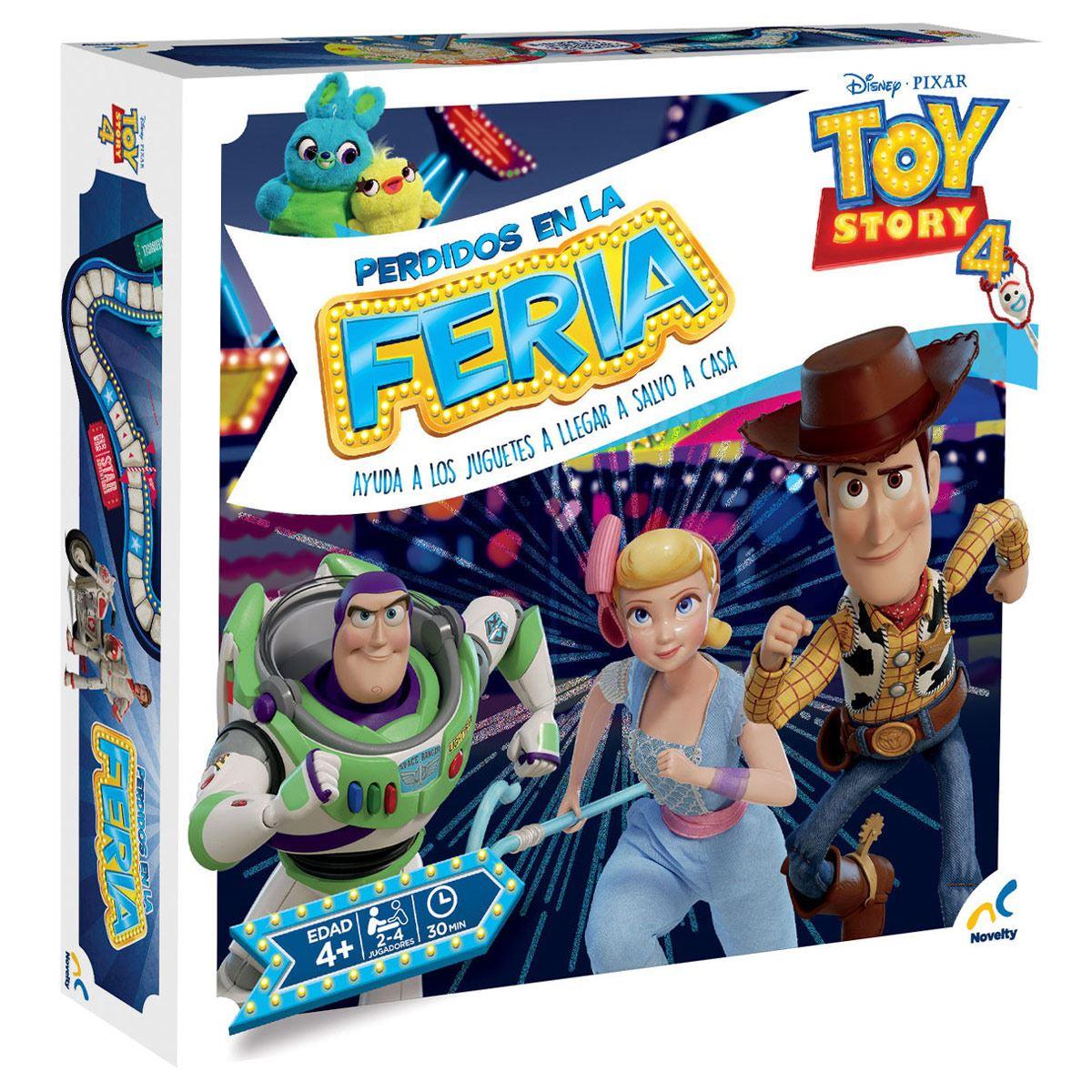 Juego Perdidos en la Feria Toy Story 4 Novelty
