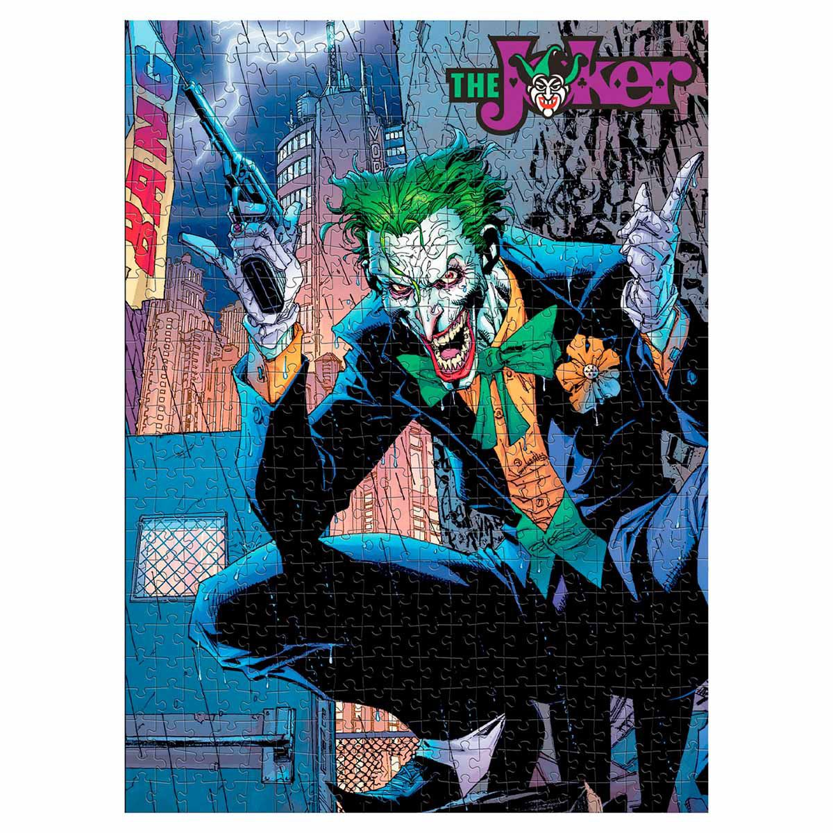 Rompecabezas coleccionable DC comics The Joker