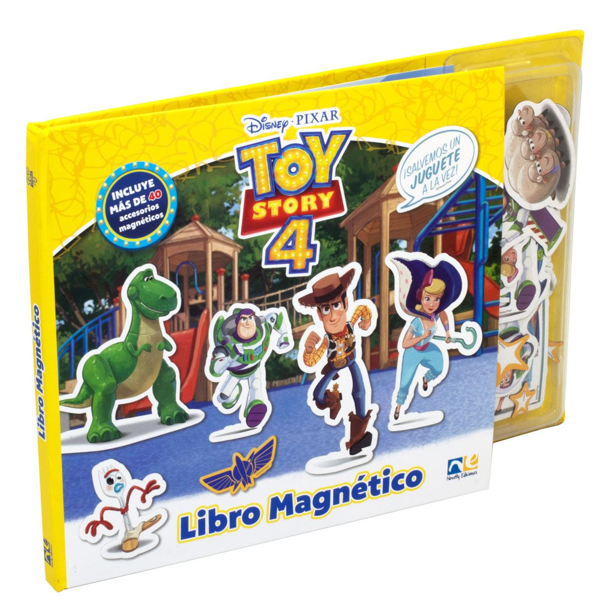 Toy Story libro magnetico