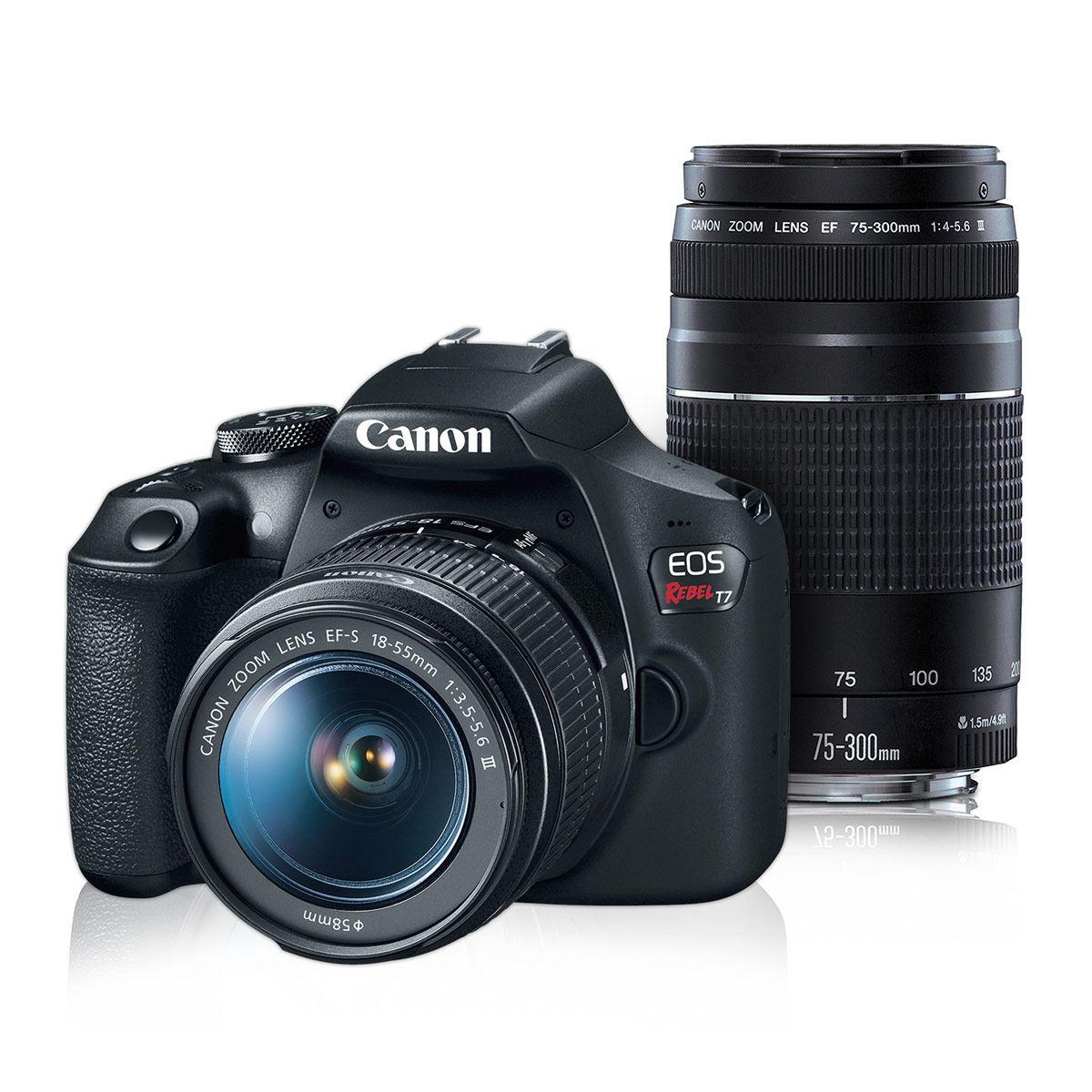 Cámara Canon Kit T7 EF-S 18-55 IS-7