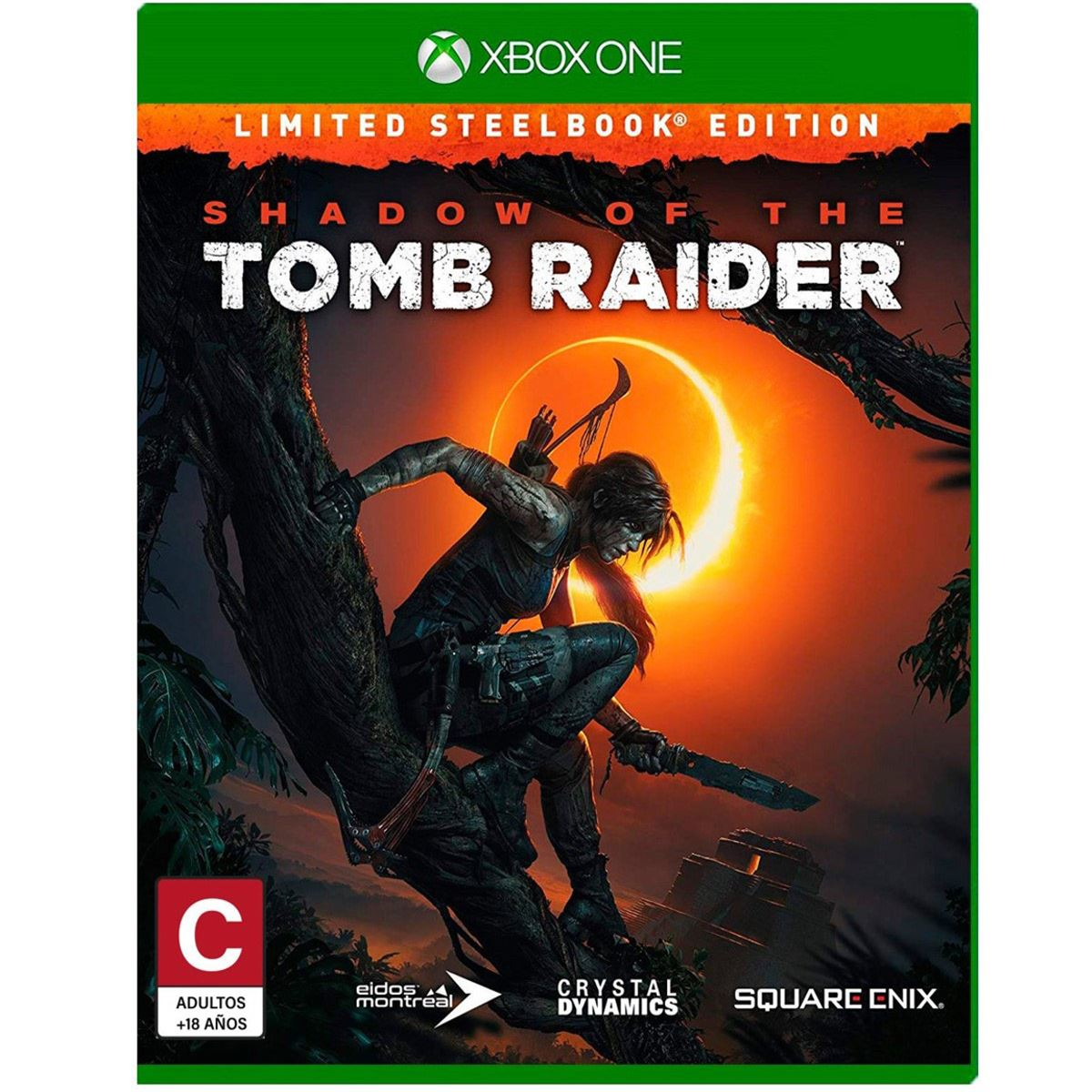 Xbox one shadow of the tomb raider  - Sanborns
