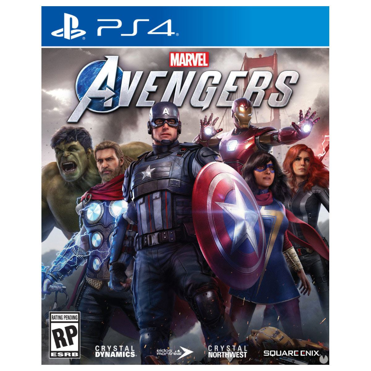 PS4 Marvel Avengers