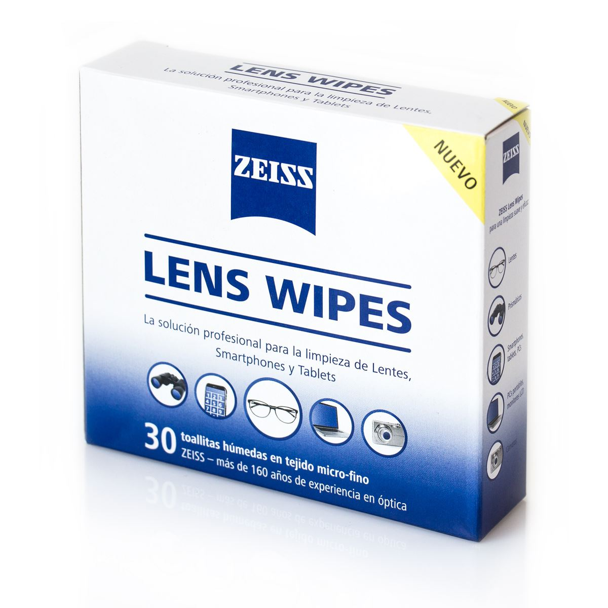 Lens wipes, 30 toallitas húmedas  - Sanborns