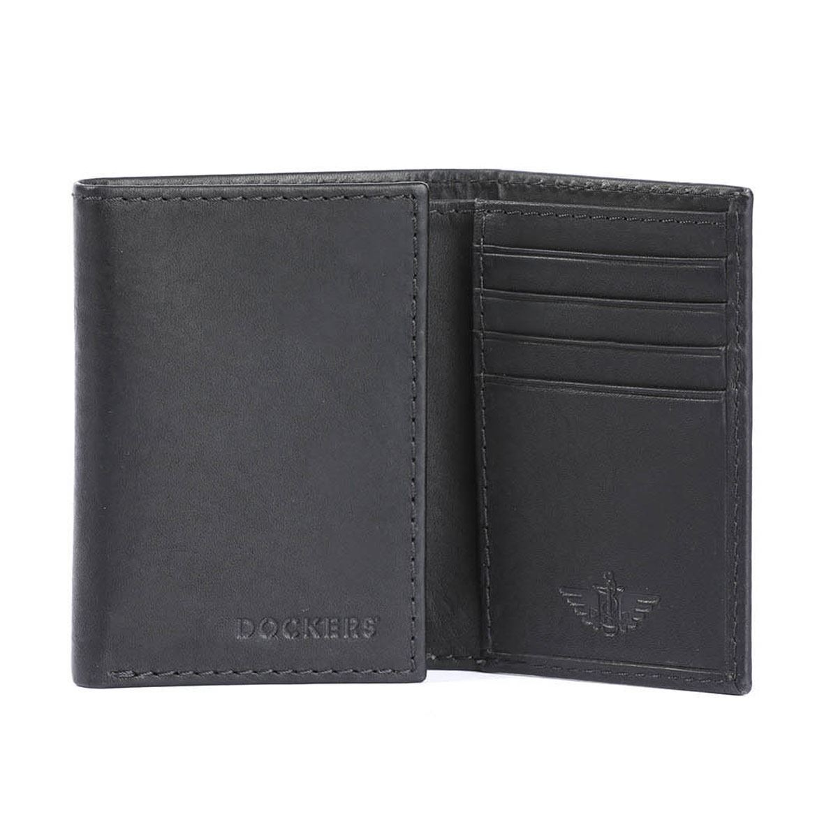 Billetera Dockers Trifold Negro