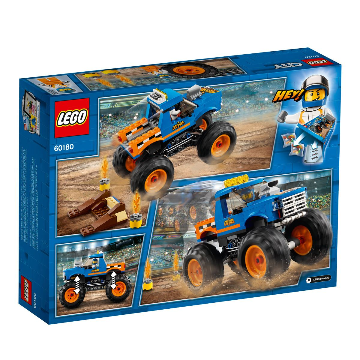 Lego city great vehicles camioneta monstruo  - Sanborns