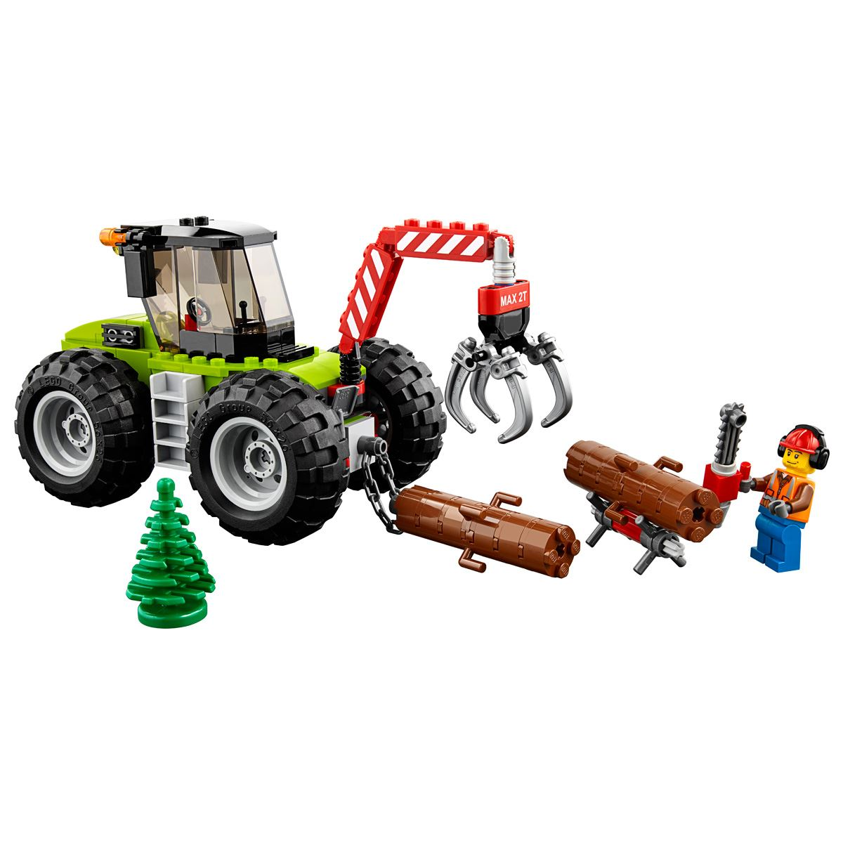 Lego City Great Vehicles Tractor Forestal