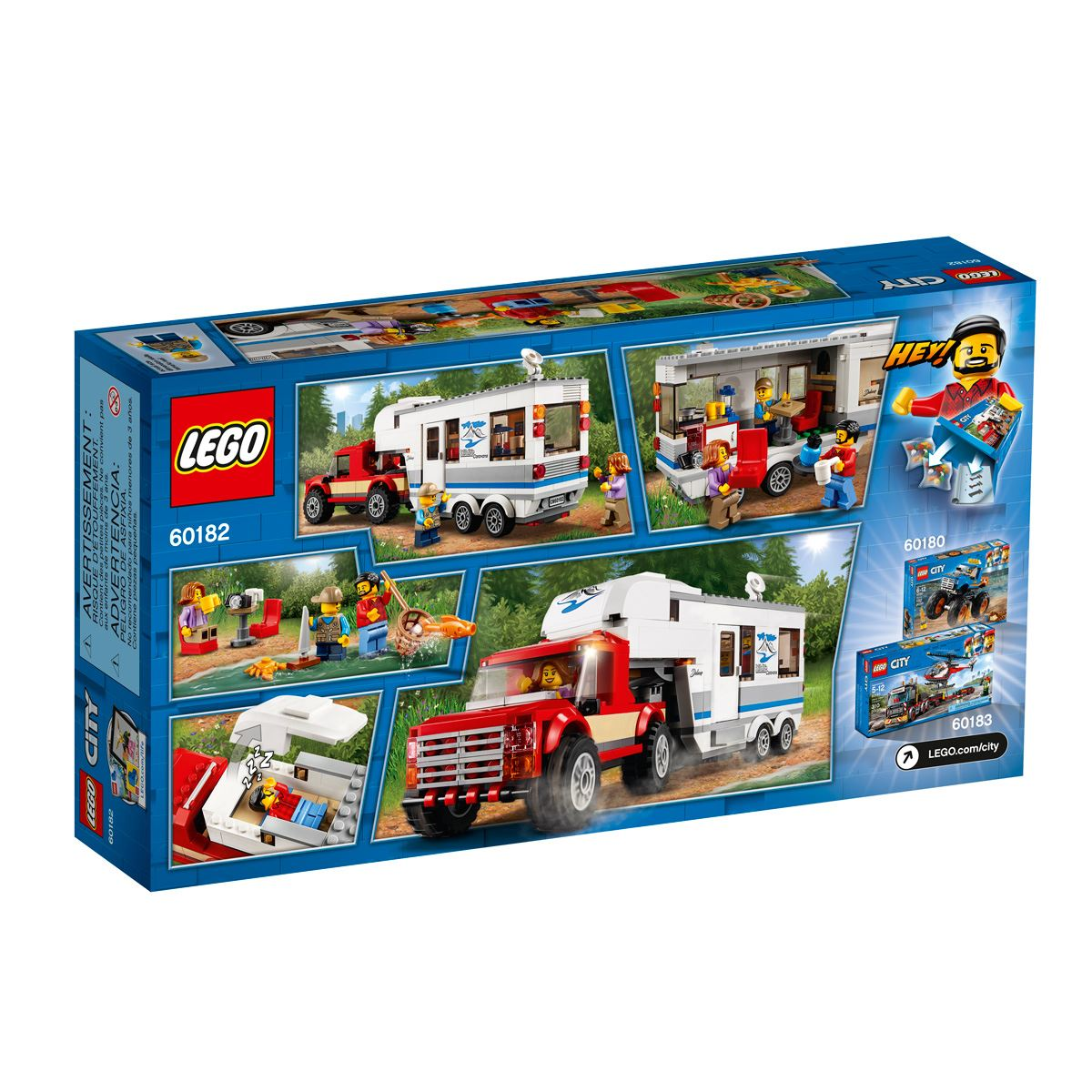 Lego city great vehicles camioneta y remolque  - Sanborns