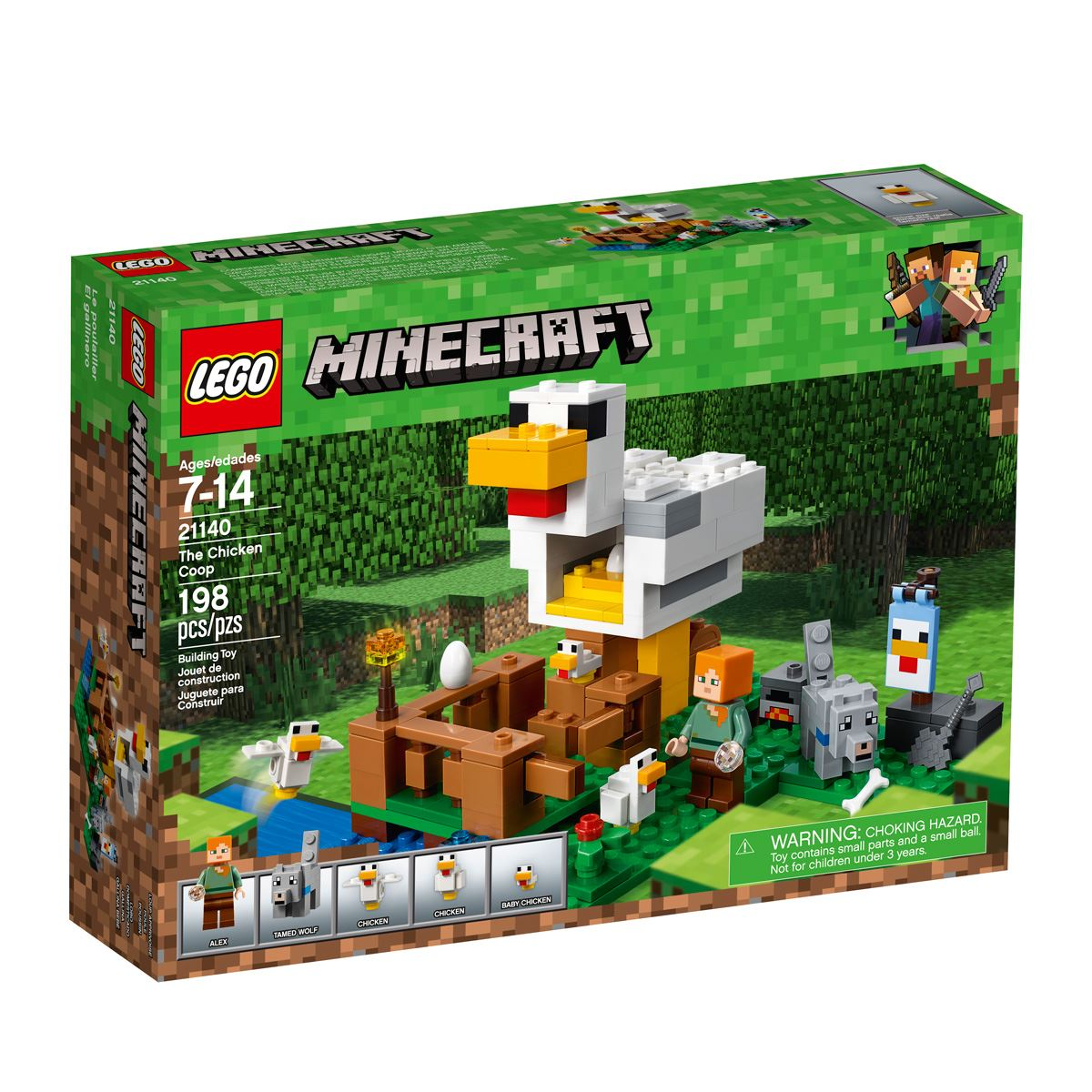 Lego minecraft el gallinero  - Sanborns