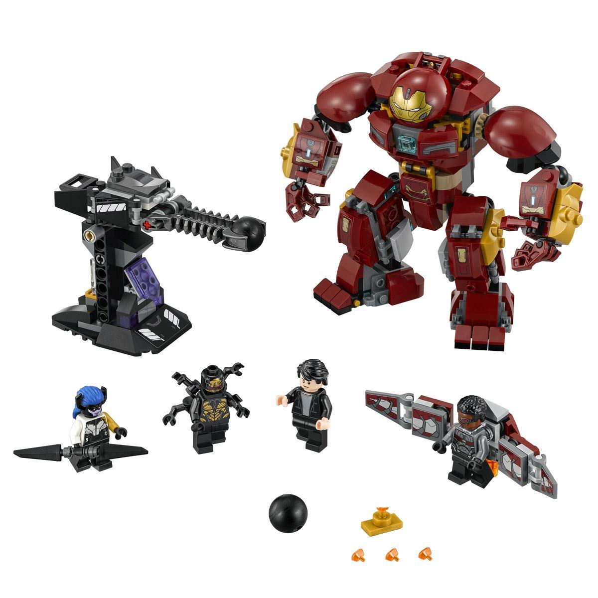 Super Héroes Incursión Demoledora del Hulkbuster