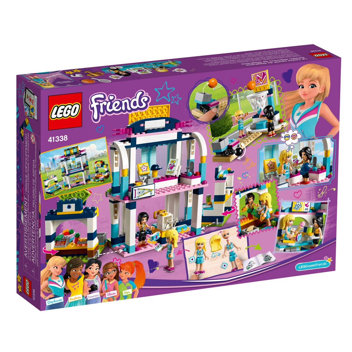 Lego Friends Estadio Deportivo de Stephanie