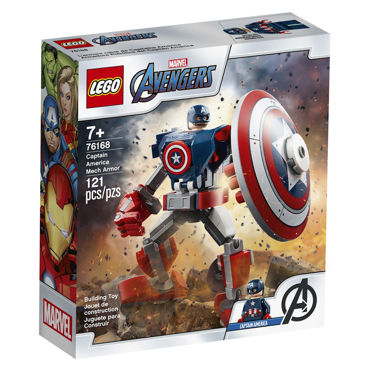 Armadura Robótica del Capitán América