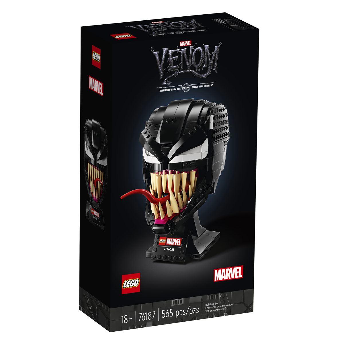 Venom Super Heroes 76187 Lego construcción niños