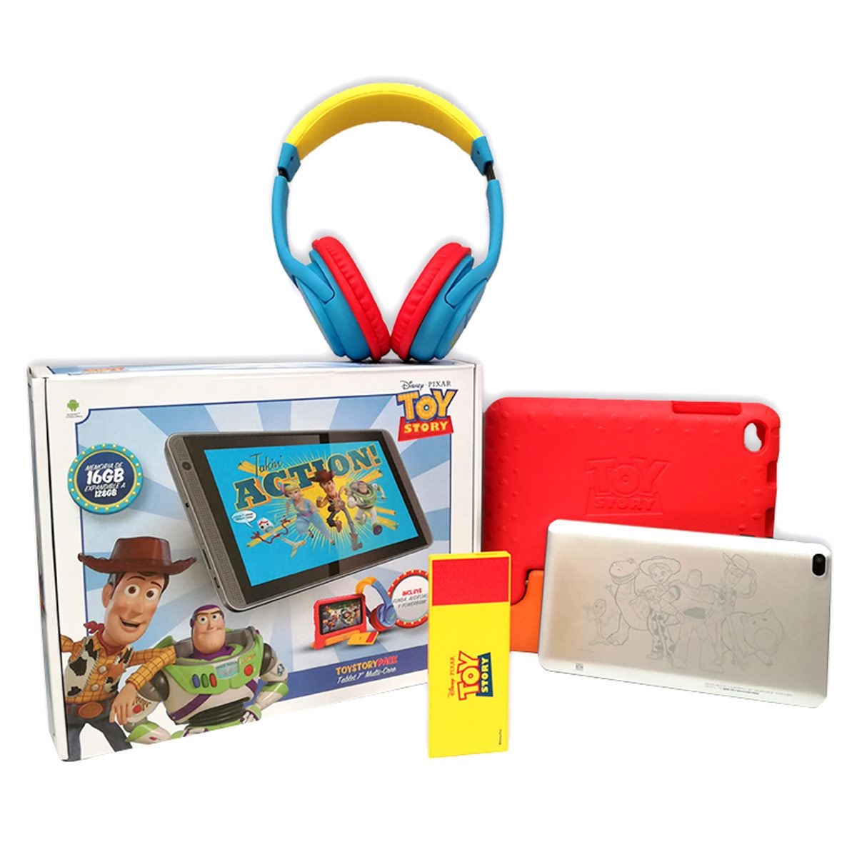 "Kit Tableta 7"" Toy Story"