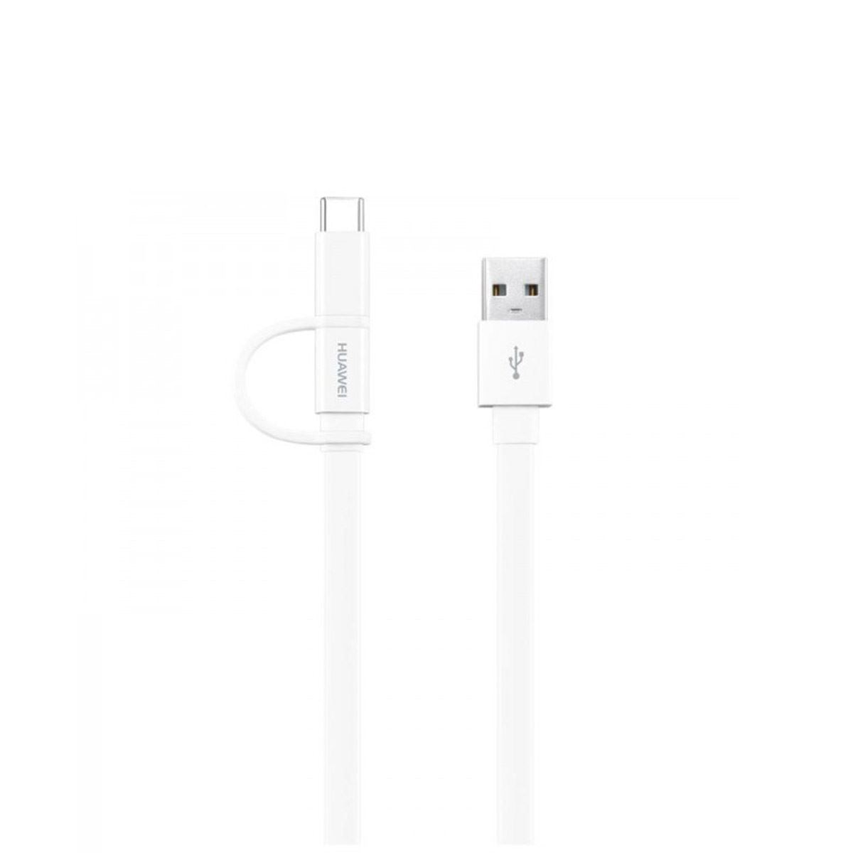 Cable tipousb+tipoc blanco ap55s huawei  - Sanborns