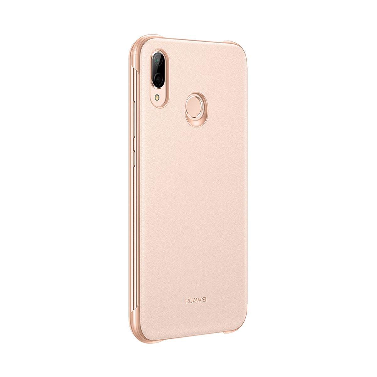 5bcfc95f161 Funda Rosa para Huawei P20 Lite Smart View Flip
