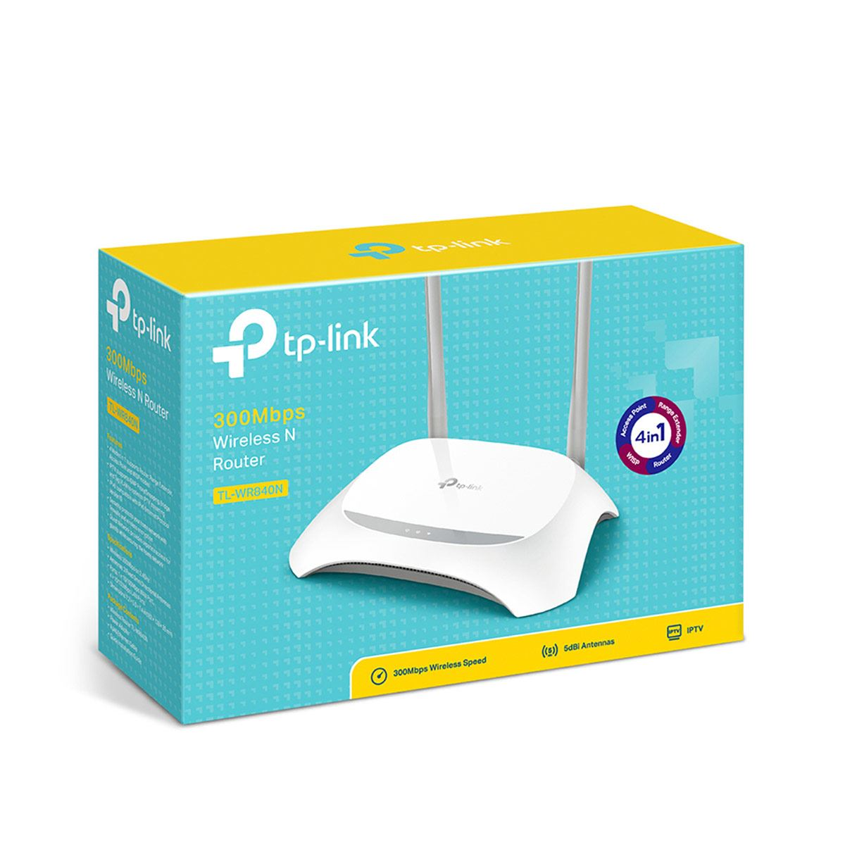 Router TP-Link TL-WR840 Velocidad