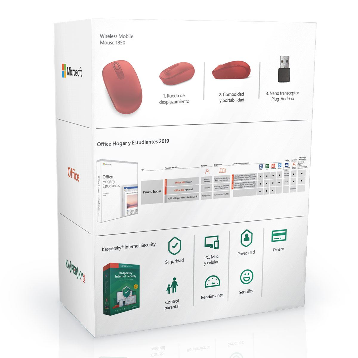 Office PC Home Student+ Antivirus y Mouse