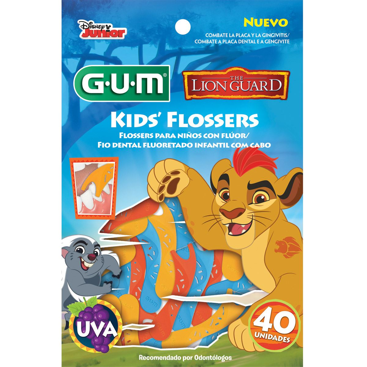 Flossers lion guard 40 piezas  - Sanborns