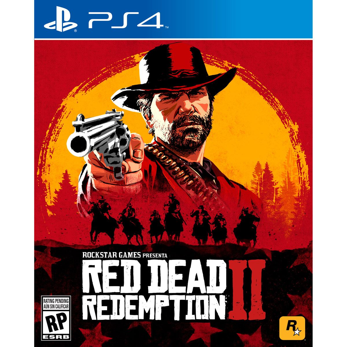 Ps4 red dead redemption 2  - Sanborns