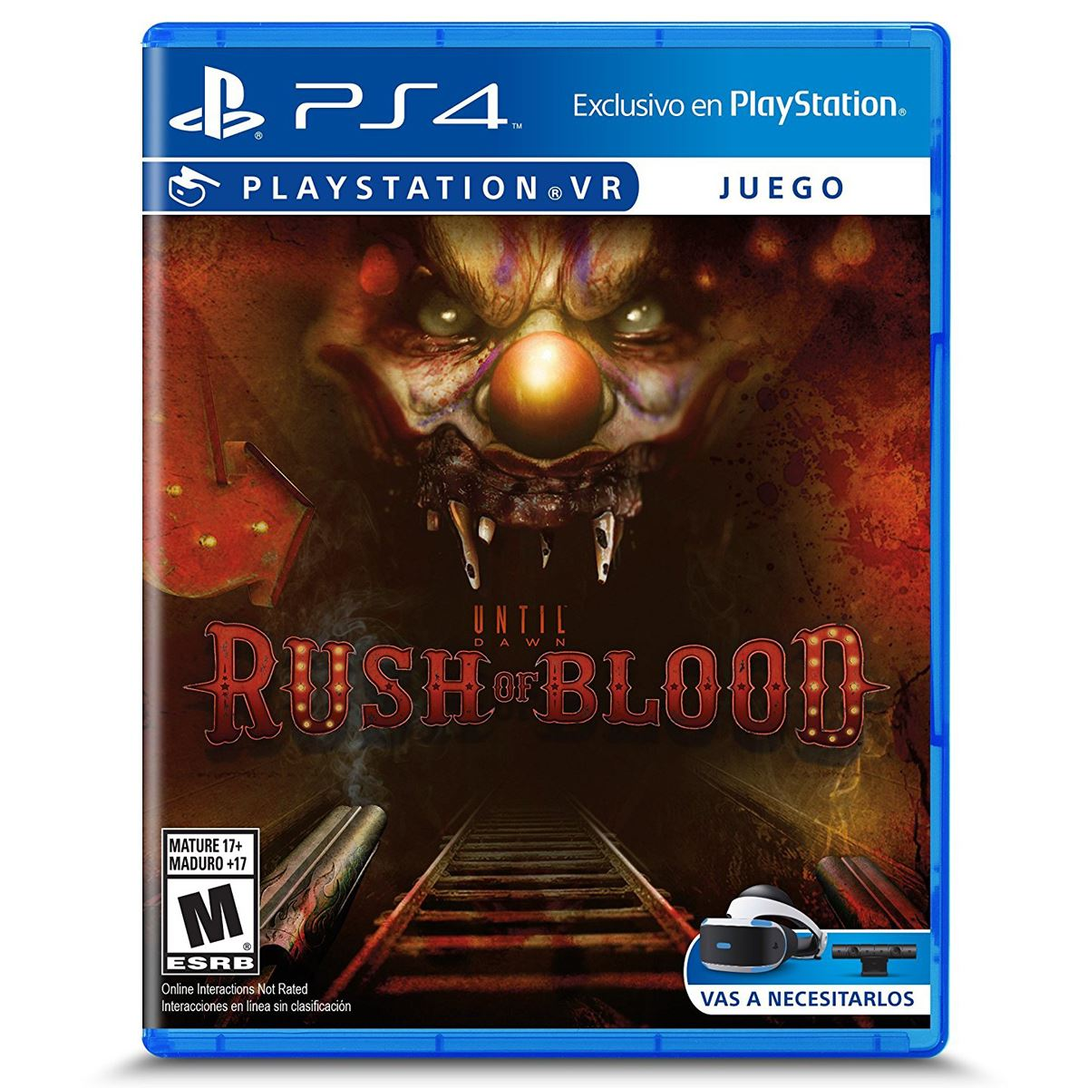 Ps4 vr until dawn rush of blood  - Sanborns