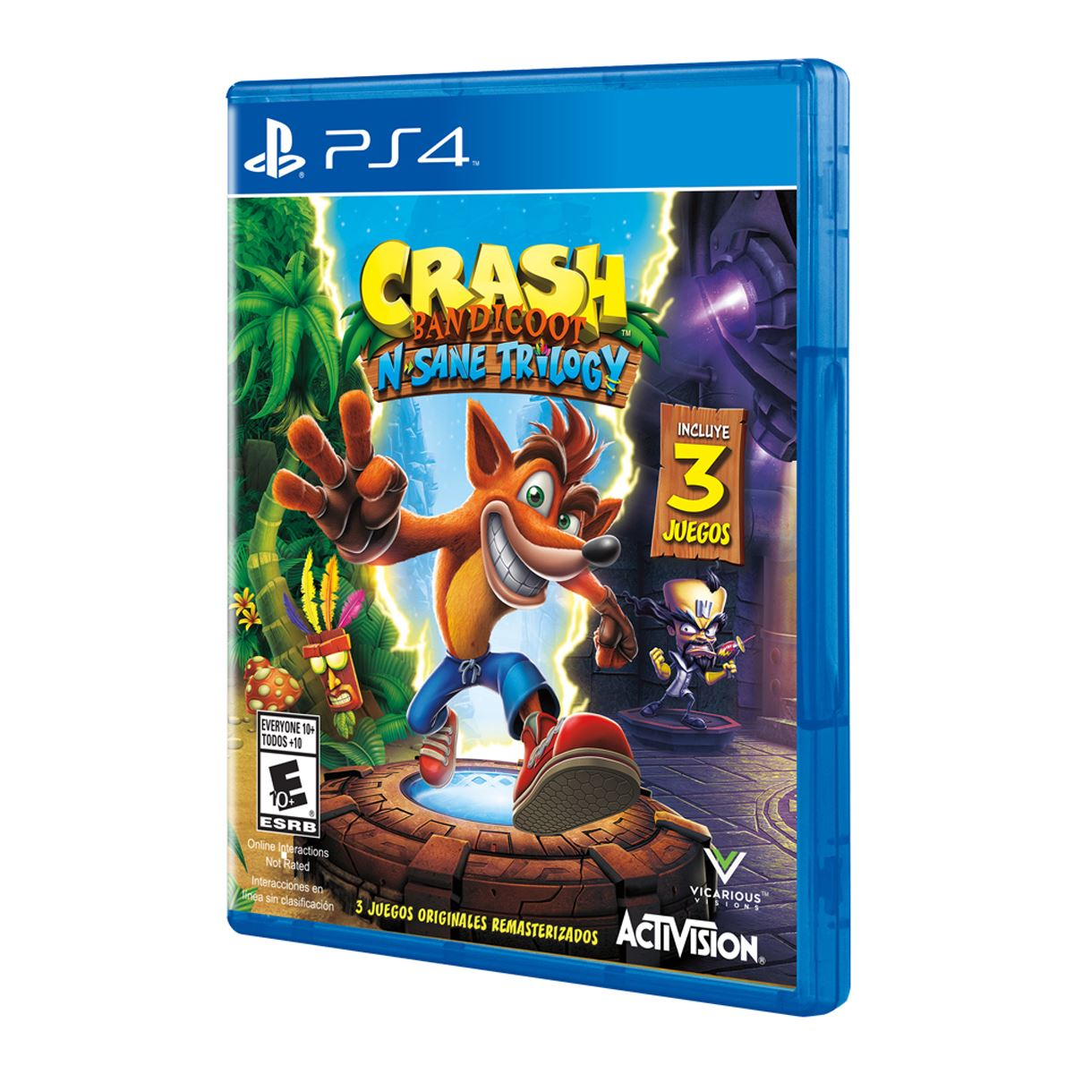 Crash Bandicoot Trilogy PlayStation 4