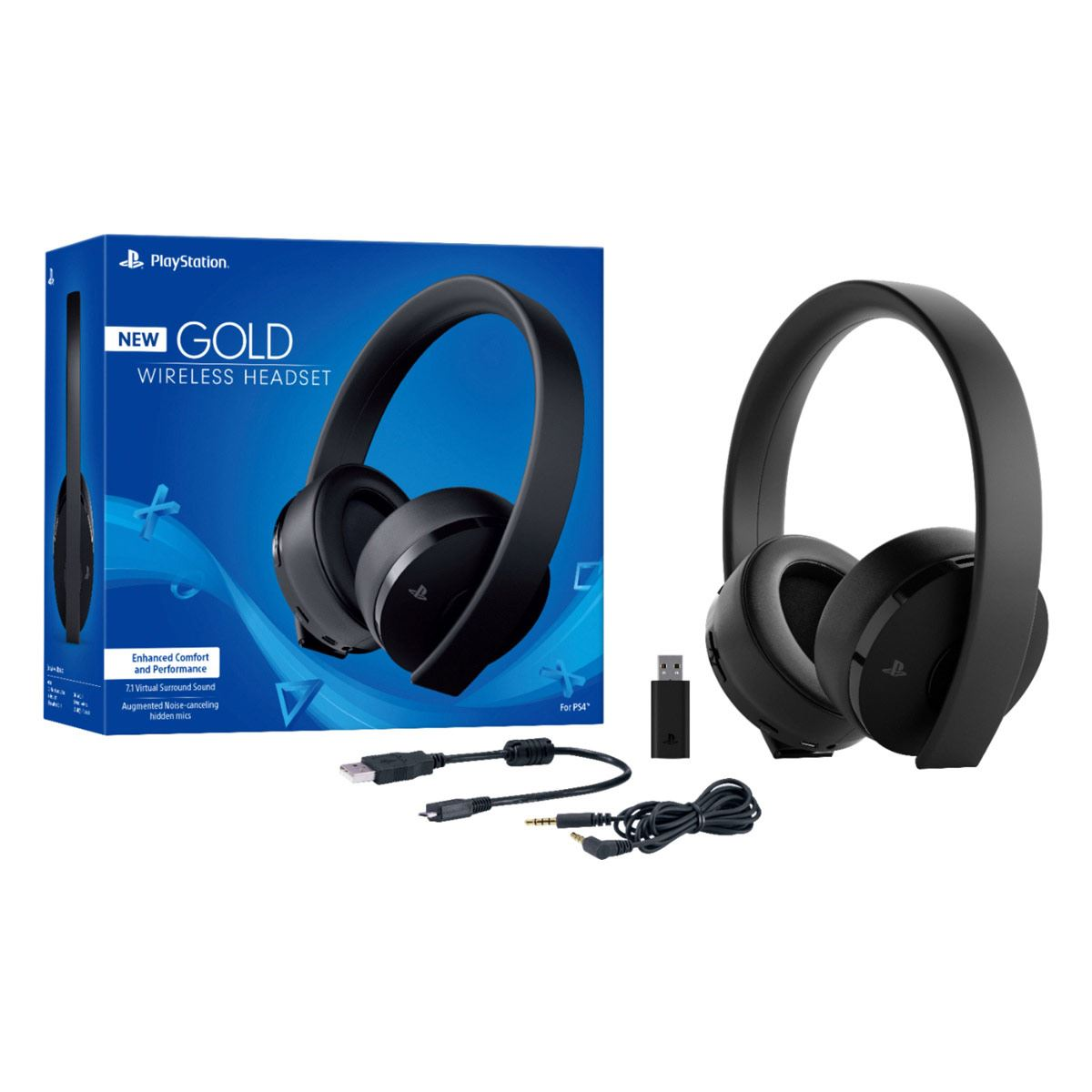 Auriculares Stereo Wireless Gold
