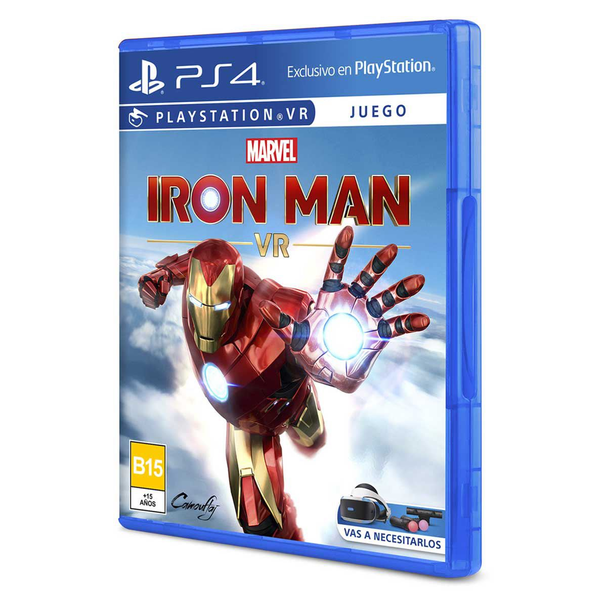 Iron Man VR PlayStation 4