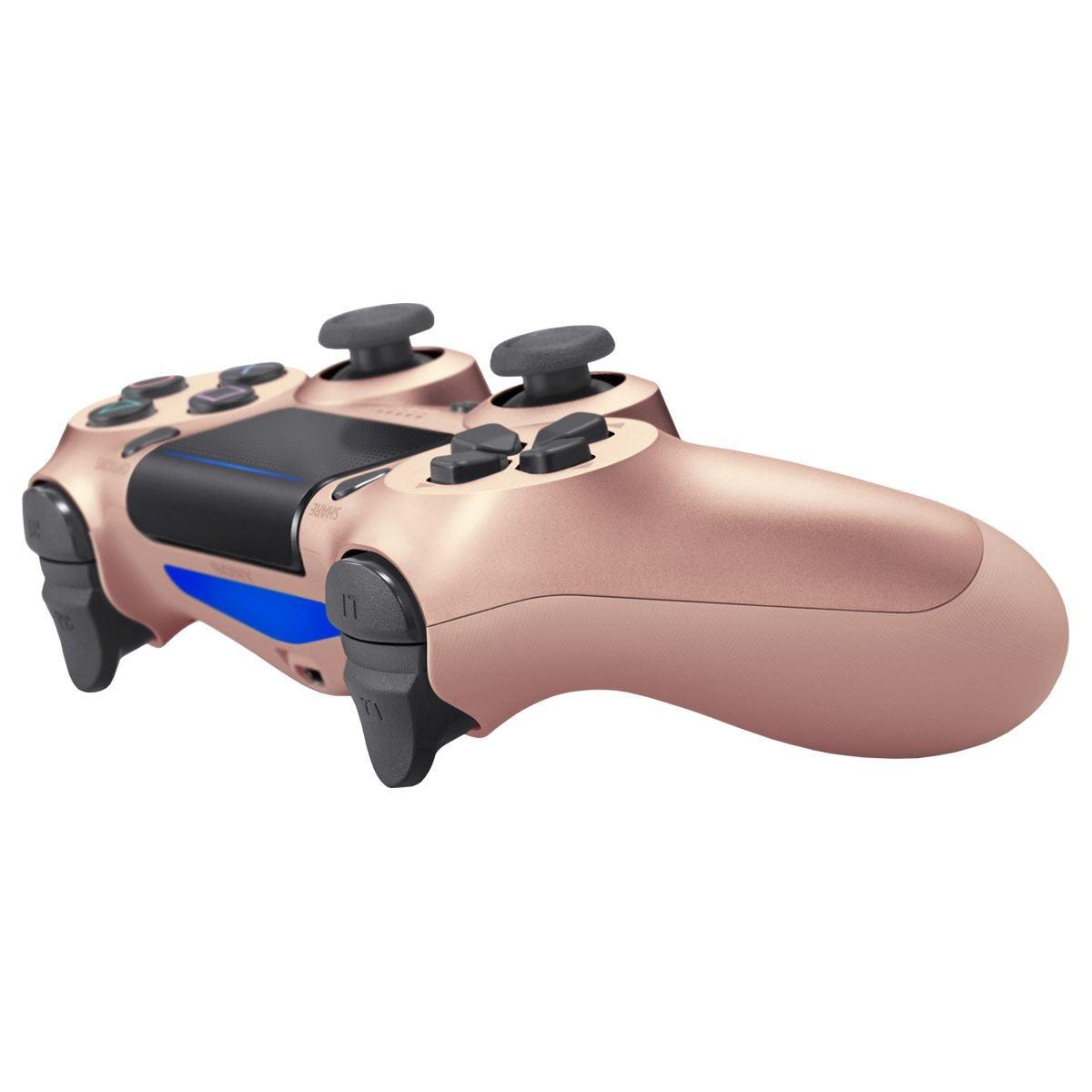 Control PS4 DS4 Color Oro Rosado