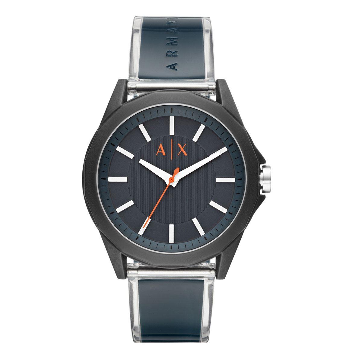 Reloj Armani Exchange Drexler Azul Marino Para Caballero